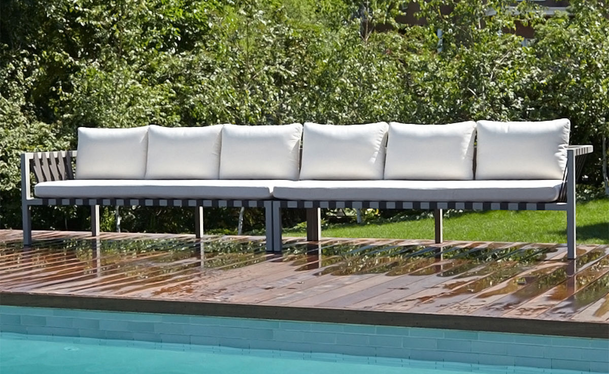 Jibe Outdoor Extra Long Sectional Sofa - hivemodern.com