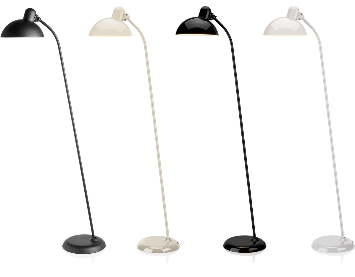 kaiser idell super floor lamp. Black Bedroom Furniture Sets. Home Design Ideas