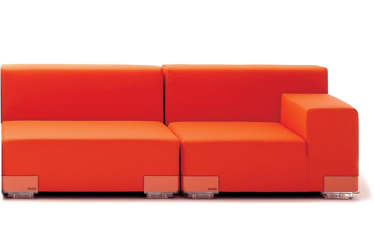Kartell plastics sofa refil sofa for Liquidation sofa sectionnel