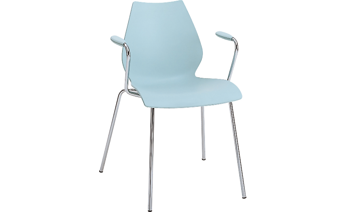 Merveilleux Kartell Maui Stacking Arm Chair 2 Pack