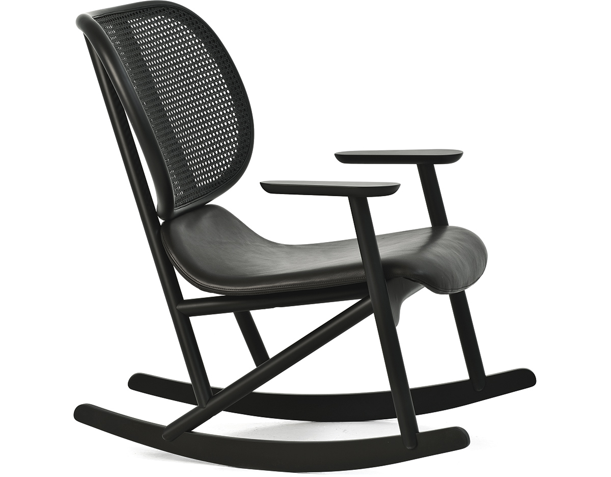 Klara Rocking Chair With Cane Back hivemoderncom : klara rocking chair with cane back patricia urquiola moroso 2 from hivemodern.com size 1200 x 936 jpeg 197kB