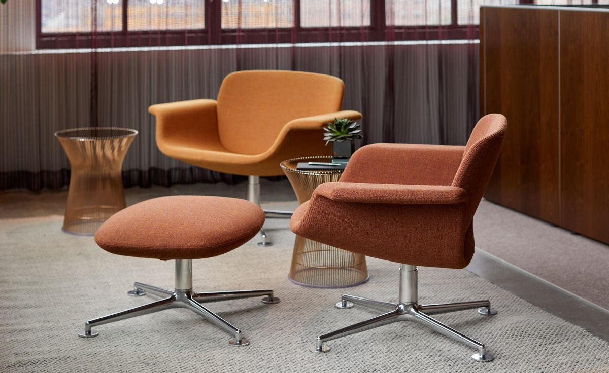 Kn01 Low Back Lounge Chair Hivemodern Com