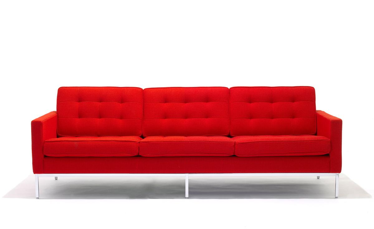 Florence Knoll 3 Seat Sofa Hivemodern Com