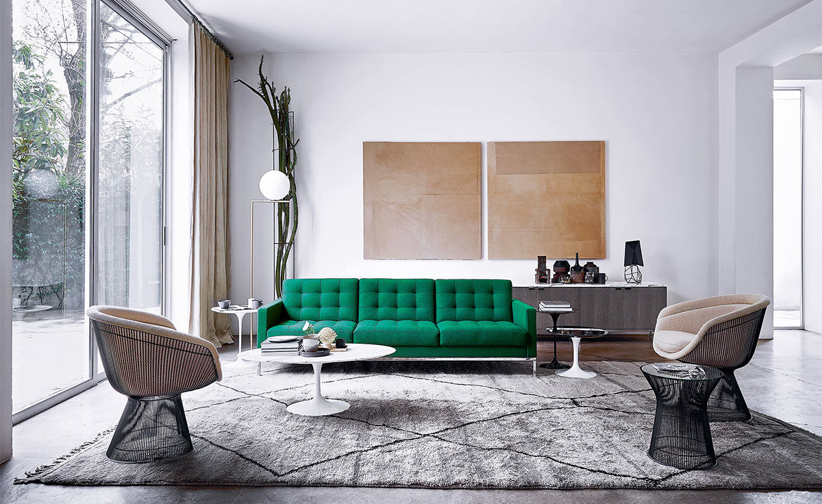 florence knoll  seat sofa  hivemoderncom - overview