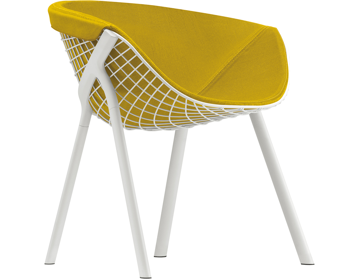 Kobi Chair With Large Pad - hivemodern.com