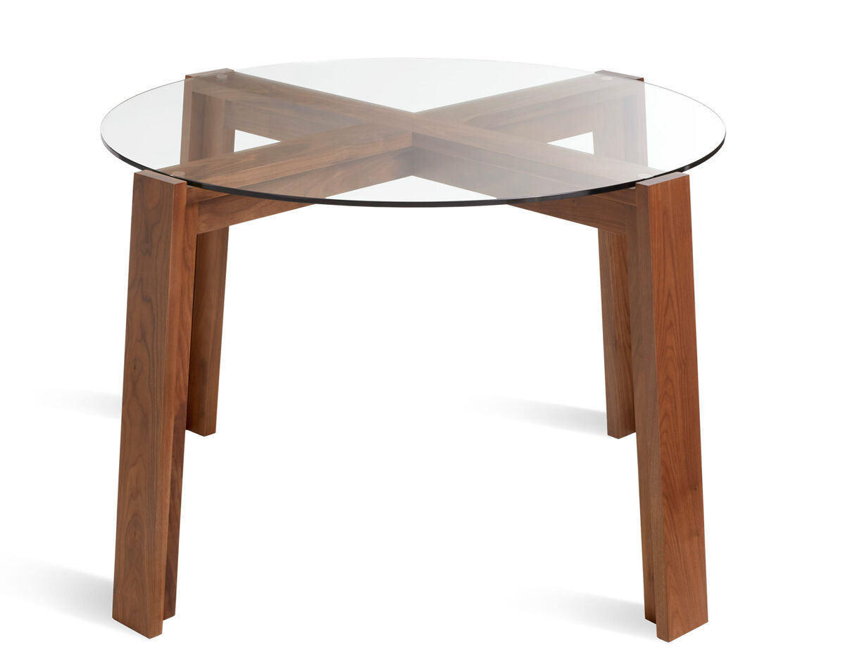 Blue Dot Dining Table Lake Round Dining Table Hivemoderncom