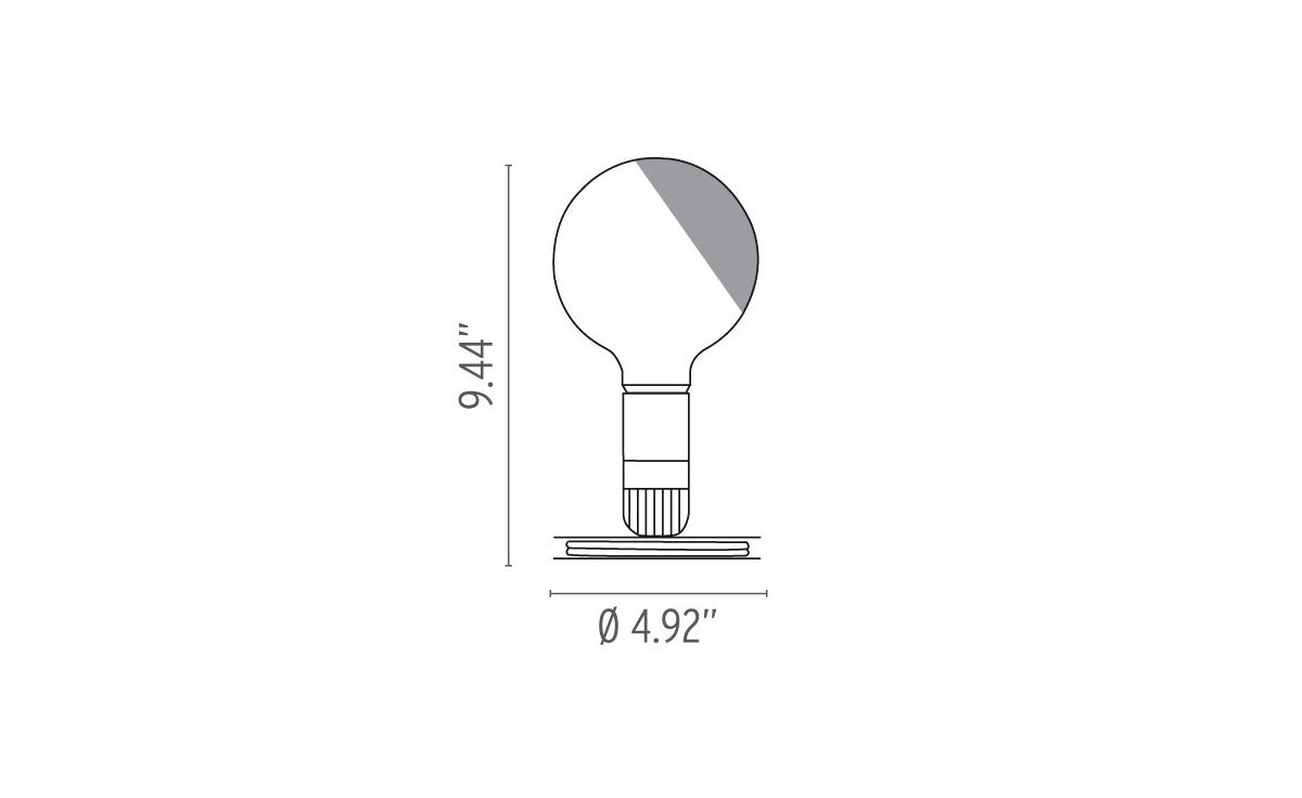 Lampadina Led Table Lamp - hivemodern.com