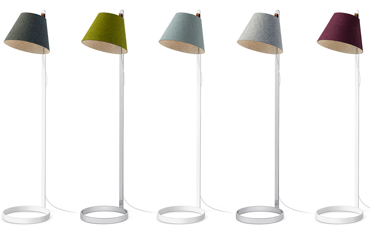 Lana Led Floor Lamp Hivemodern Com