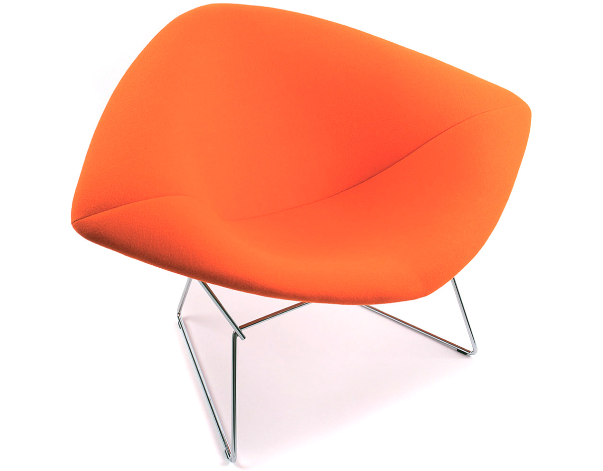 Bertoia lounge chair - Overview