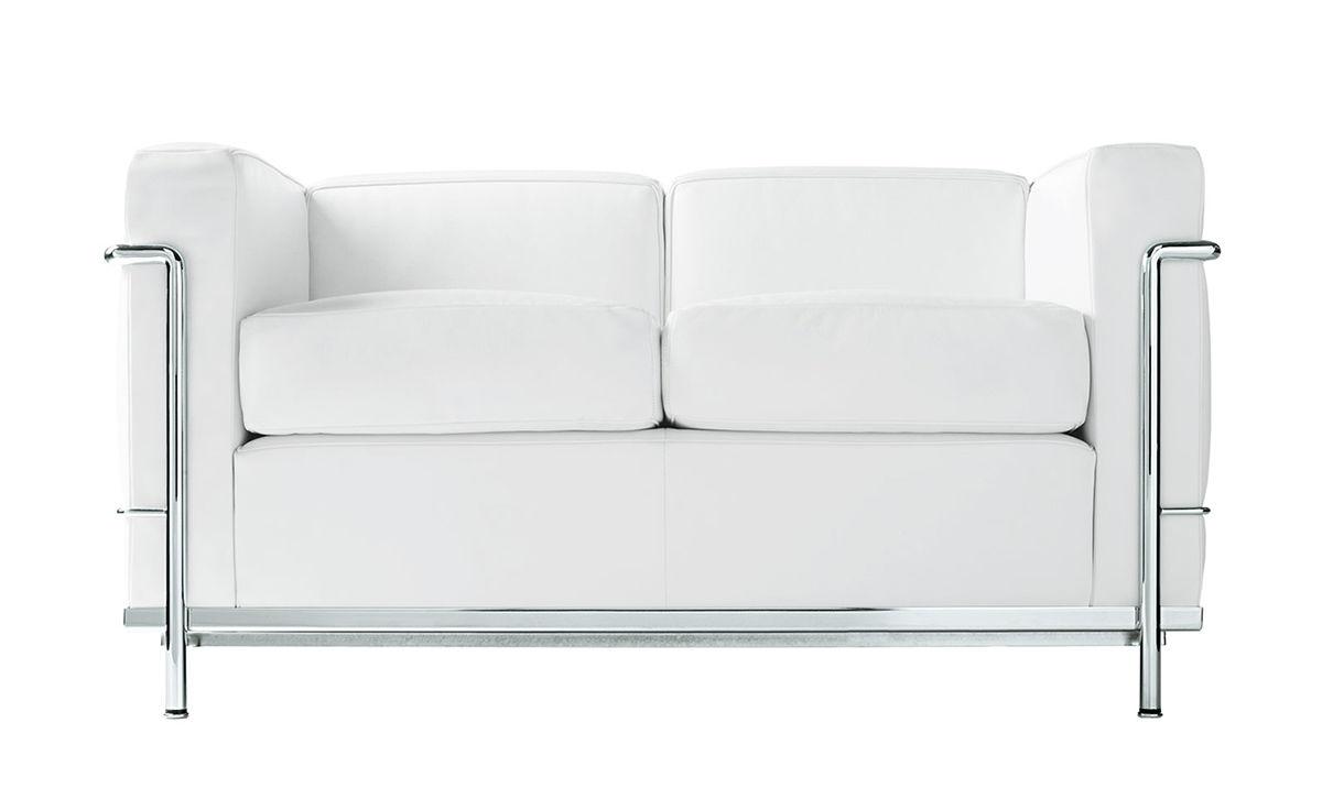 Le Corbusier Lc2 Two Seat Sofa Hivemodern Com
