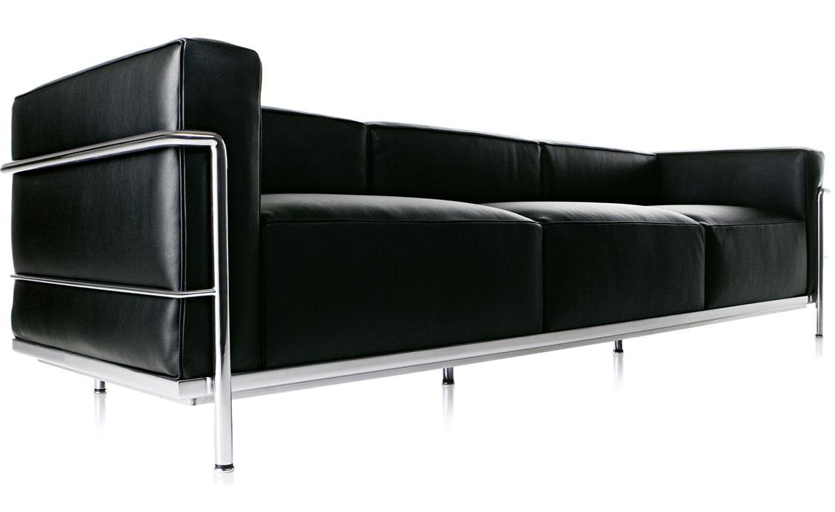 Le Corbusier Lc3 Three Seat Sofa