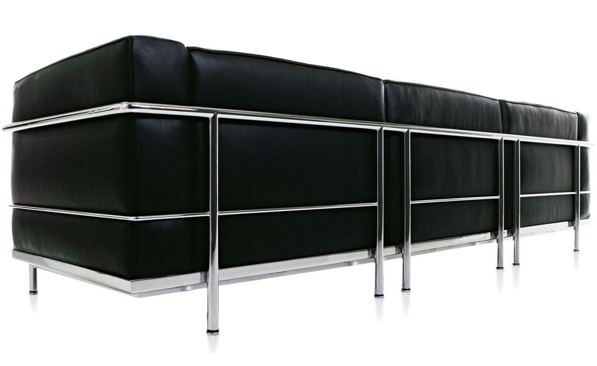 Le Corbusier Lc3 Three Seat Sofa Hivemodern Com