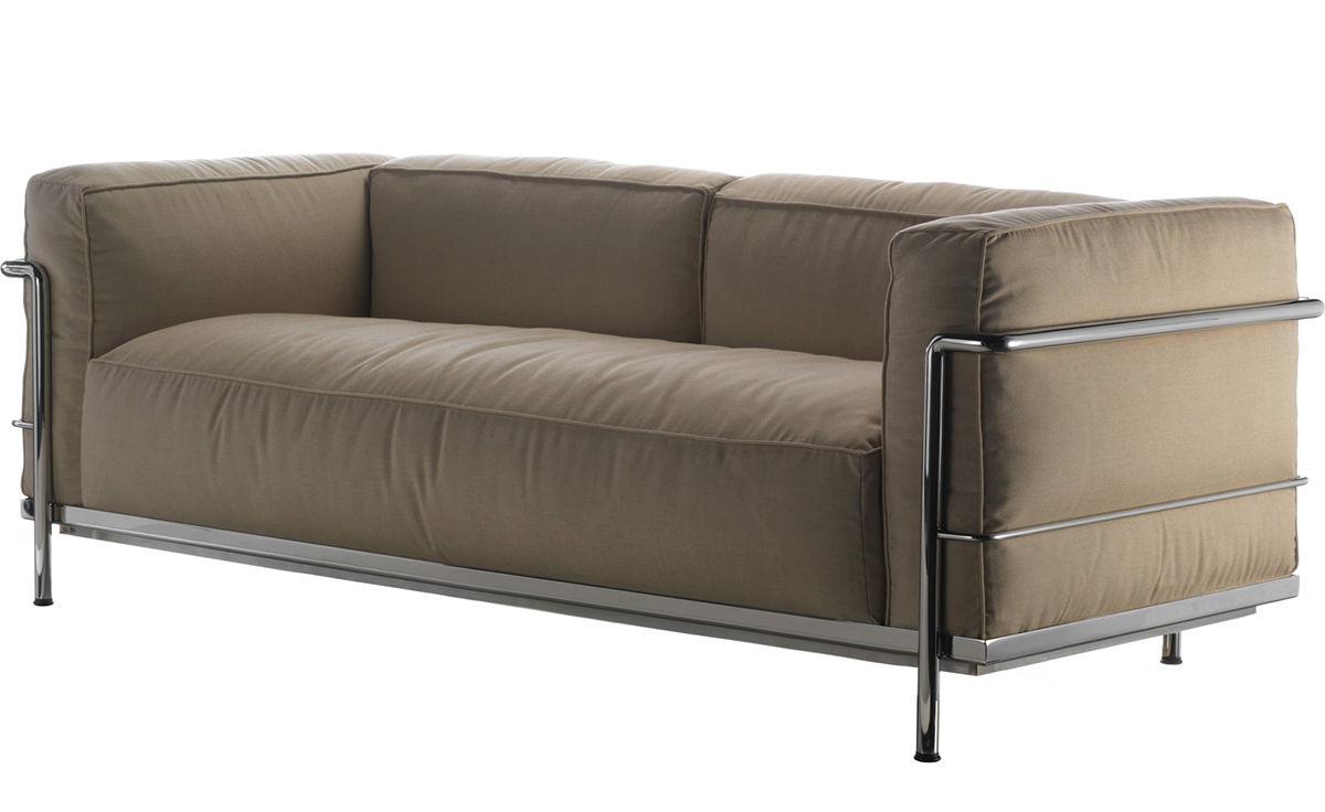 Le Corbusier Lc3 Outdoor Two Seat Sofa