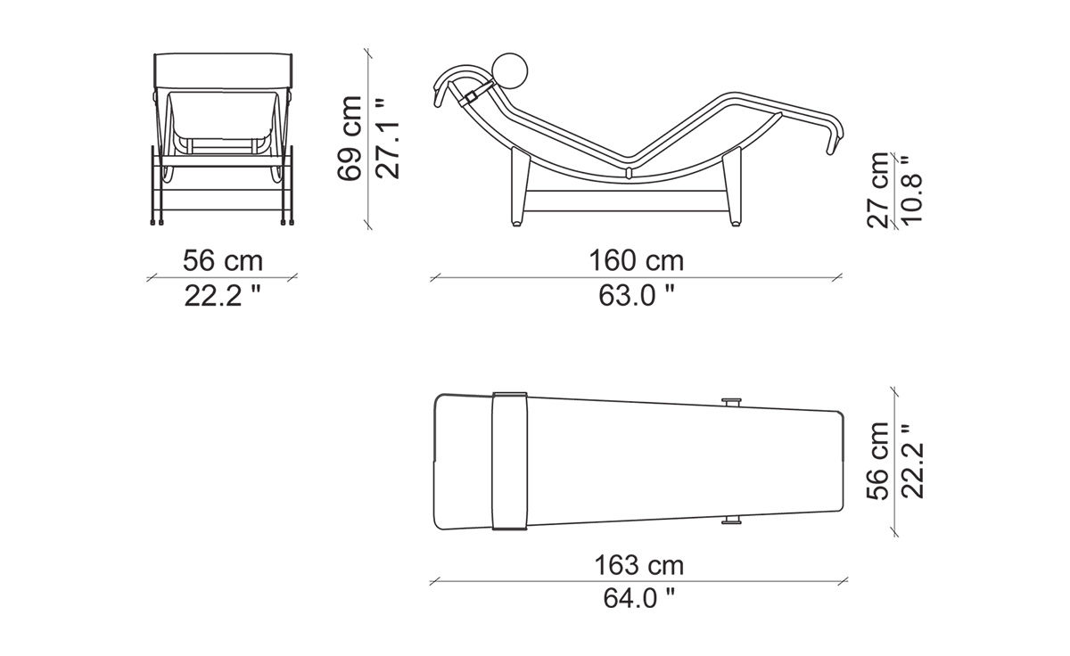Bauhaus Style Lounge Chair