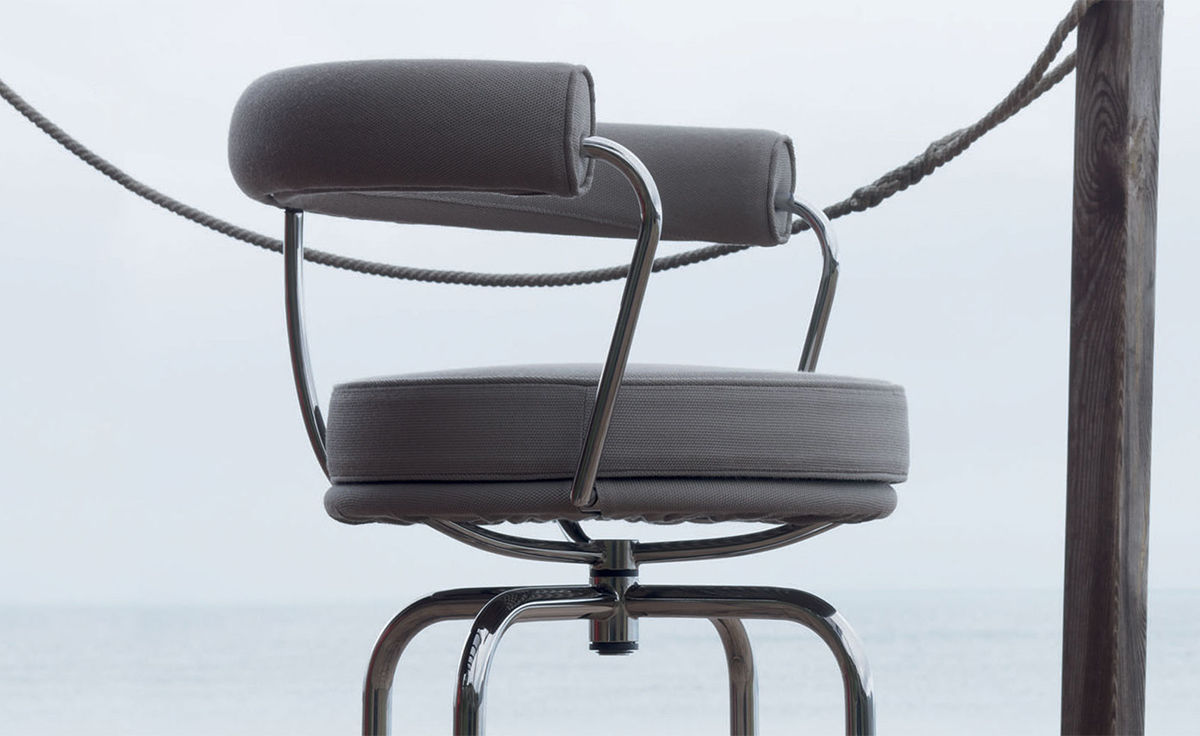 Le Corbusier Lc7 Outdoor Swivel Chair