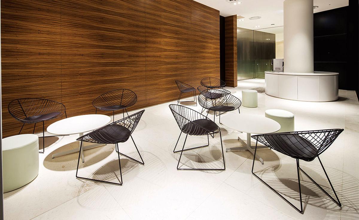 Leaf Lounge Chair With Sled Base Hivemodern Com