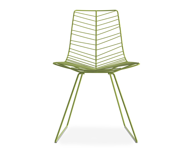 Leaf Side Chair With Sled Base  sc 1 st  Hive Modern & Leaf Side Chair With Sled Base - hivemodern.com