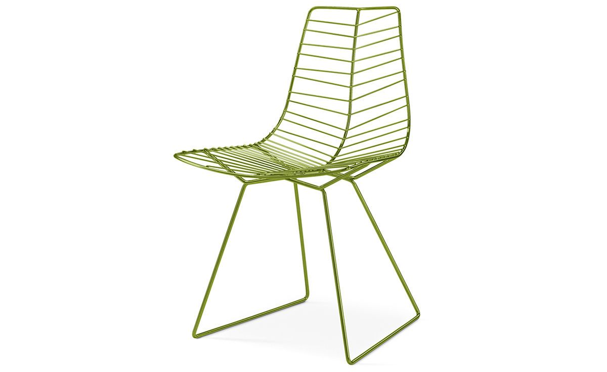 Leaf Side Chair With Sled Base Hivemodern Com