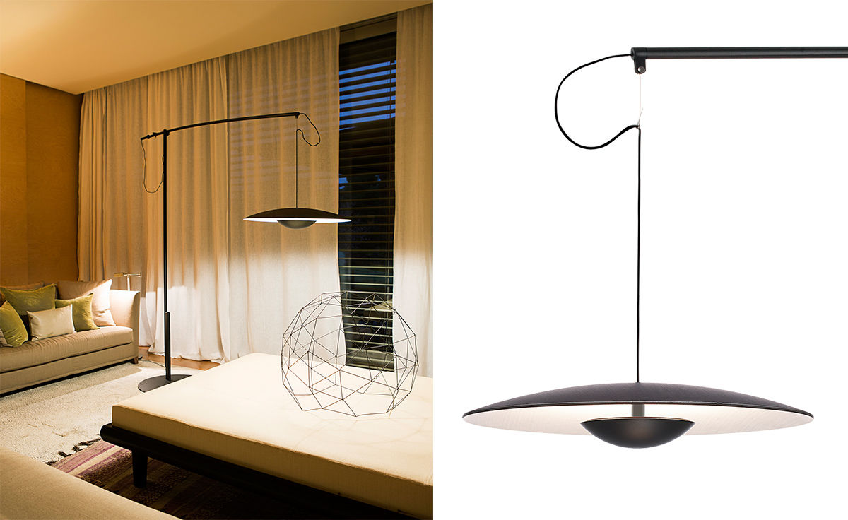 Led Ginger Floor Lamp