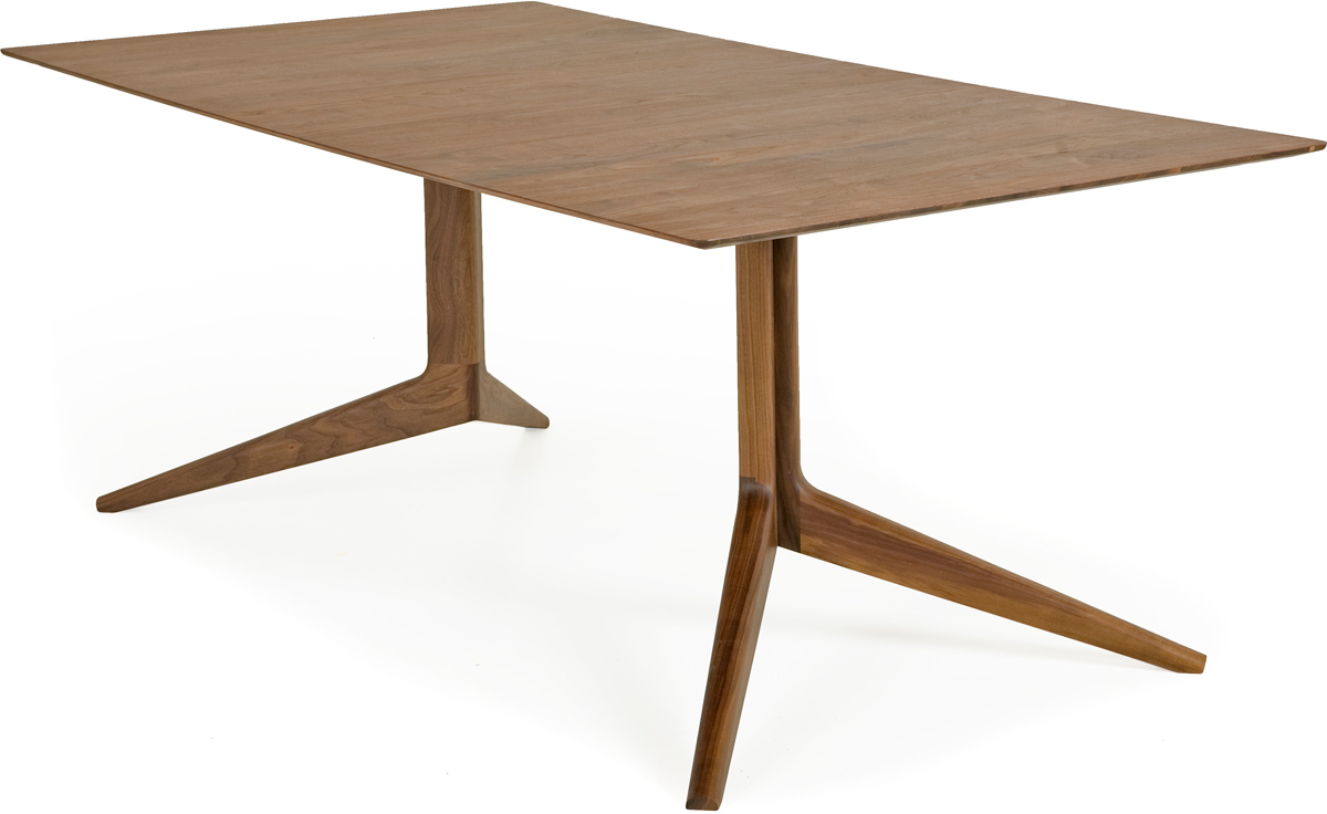 Light Rectangular Table Fixed 393f hivemodern
