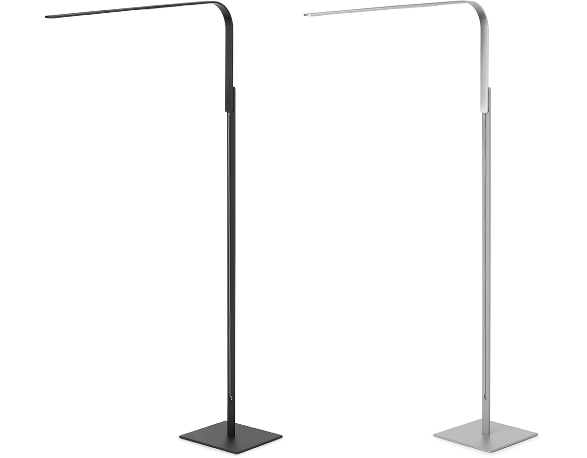 Lim led floor lamp hivemoderncom for Yumi led floor lamp