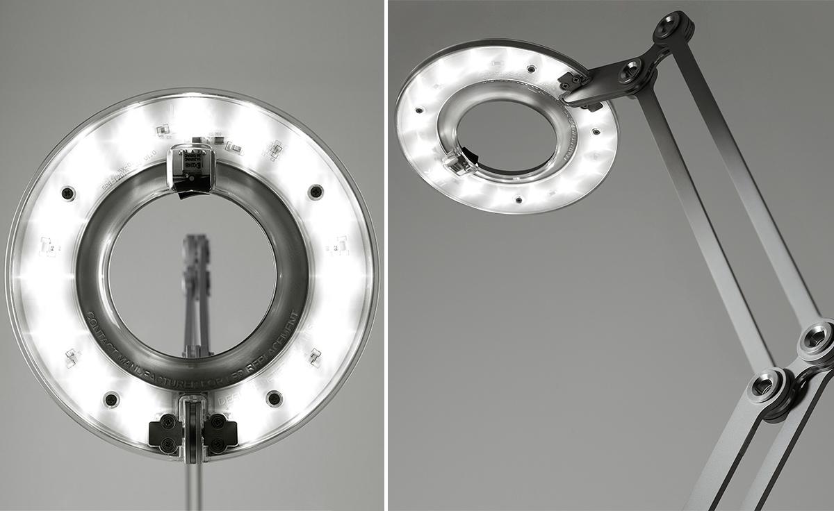 Link Led Clamp Base Lamp Hivemodern Com