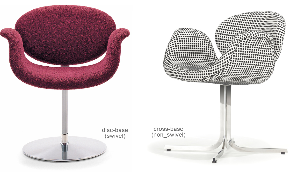 Little Tulip Chair With Disc Base Hivemodern Com