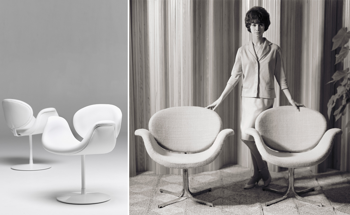 Little Tulip Chair With Disc Base hivemodern – Pierre Chair