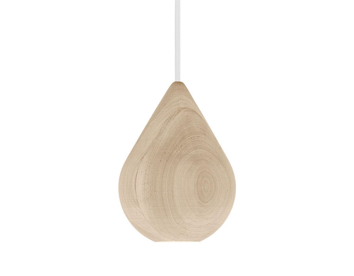 liuku base drop wood pendant light
