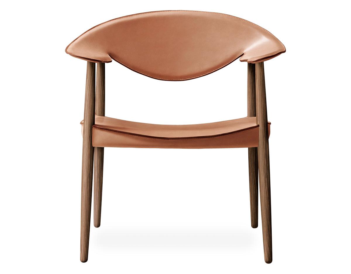 Lm92 Metropolitan Leather Back Chair