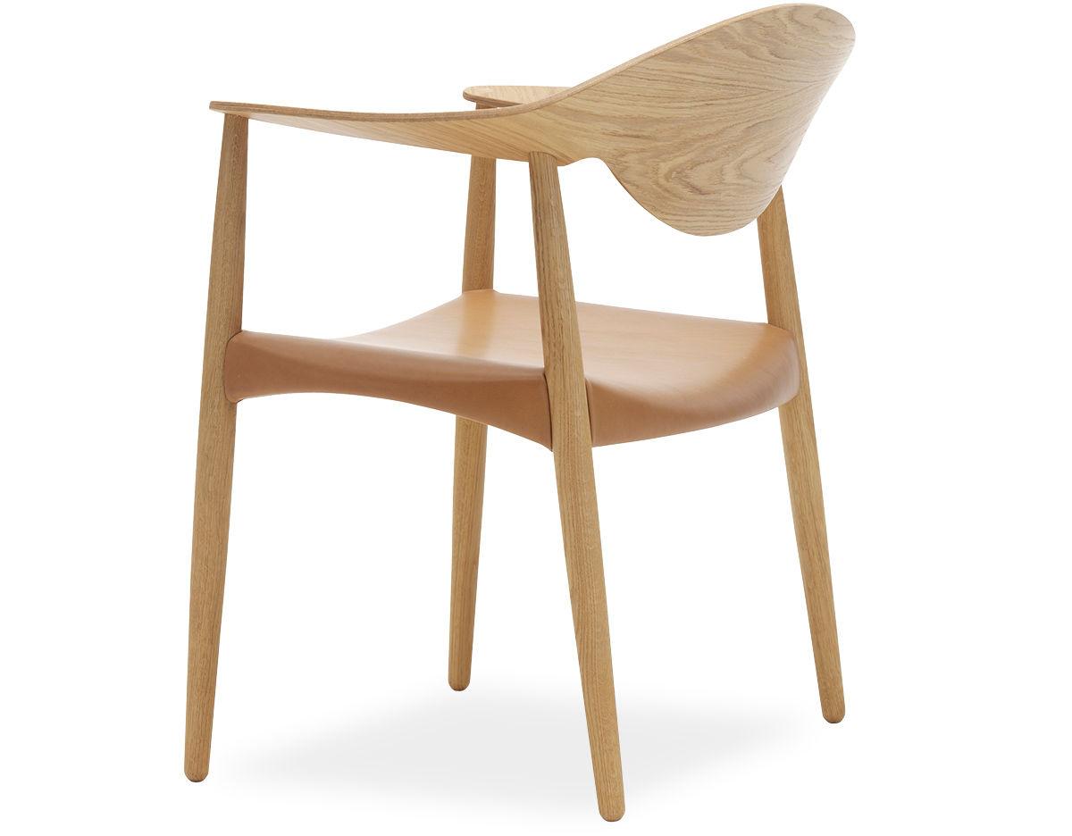 Carl Hansen Chairs lm92t metropolitan veneer back chair - hivemodern