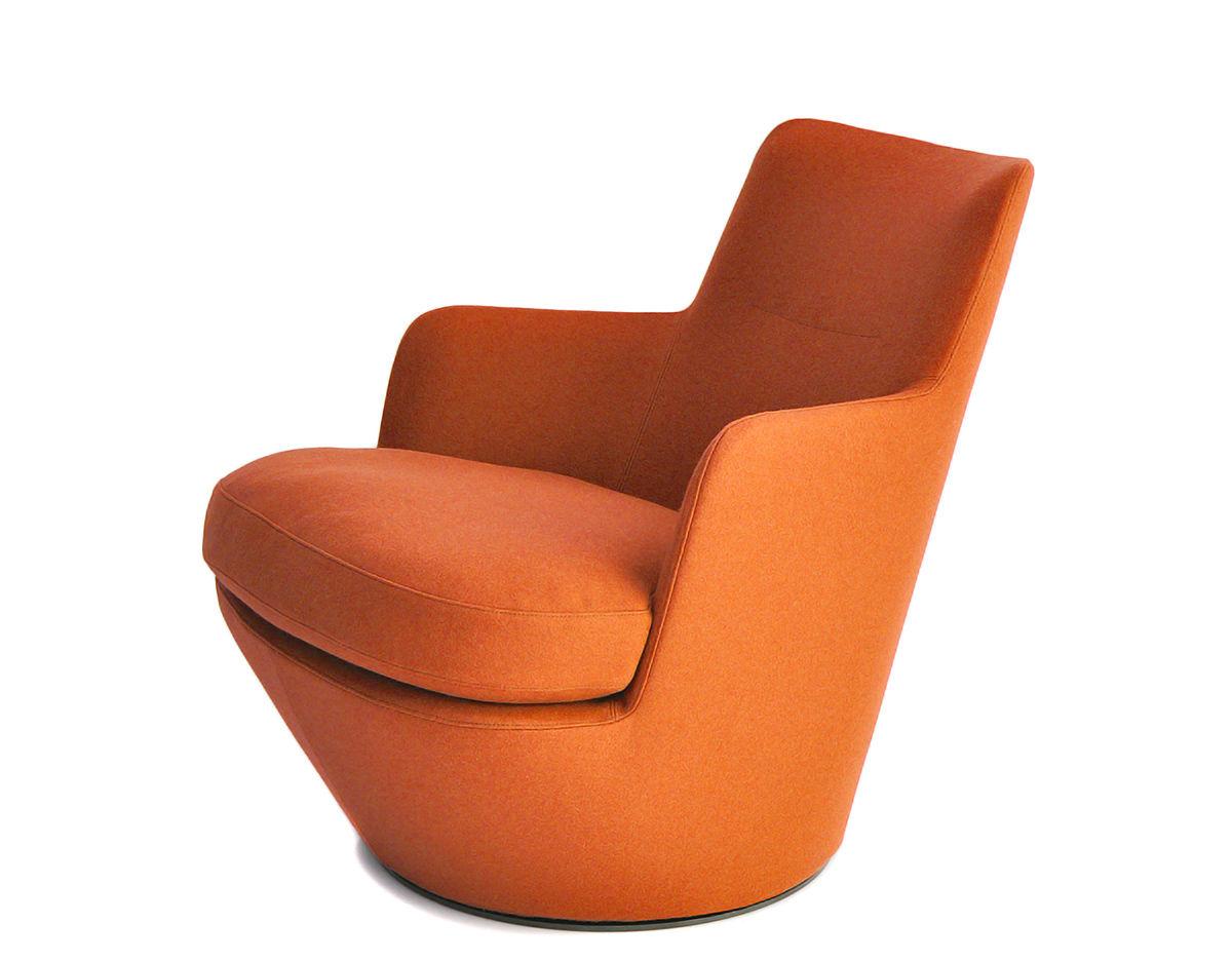 Lo Turn Lounge Chair Hivemodern Com