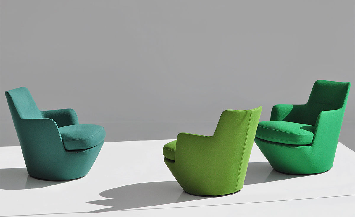 Lo Turn Lounge Chair Hivemodern Com