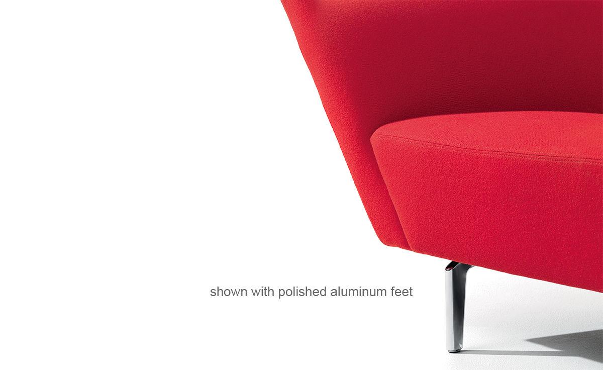 Loop Two Seat Sofa - hivemodern.com