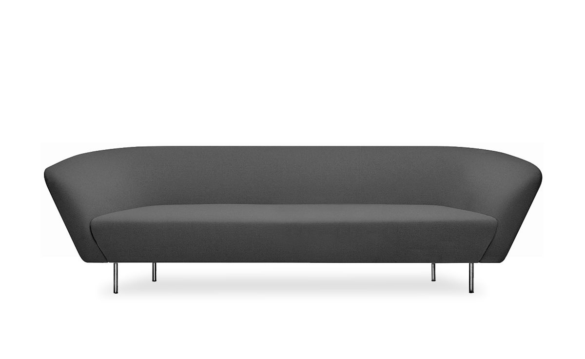 loop three seat sofa. Black Bedroom Furniture Sets. Home Design Ideas