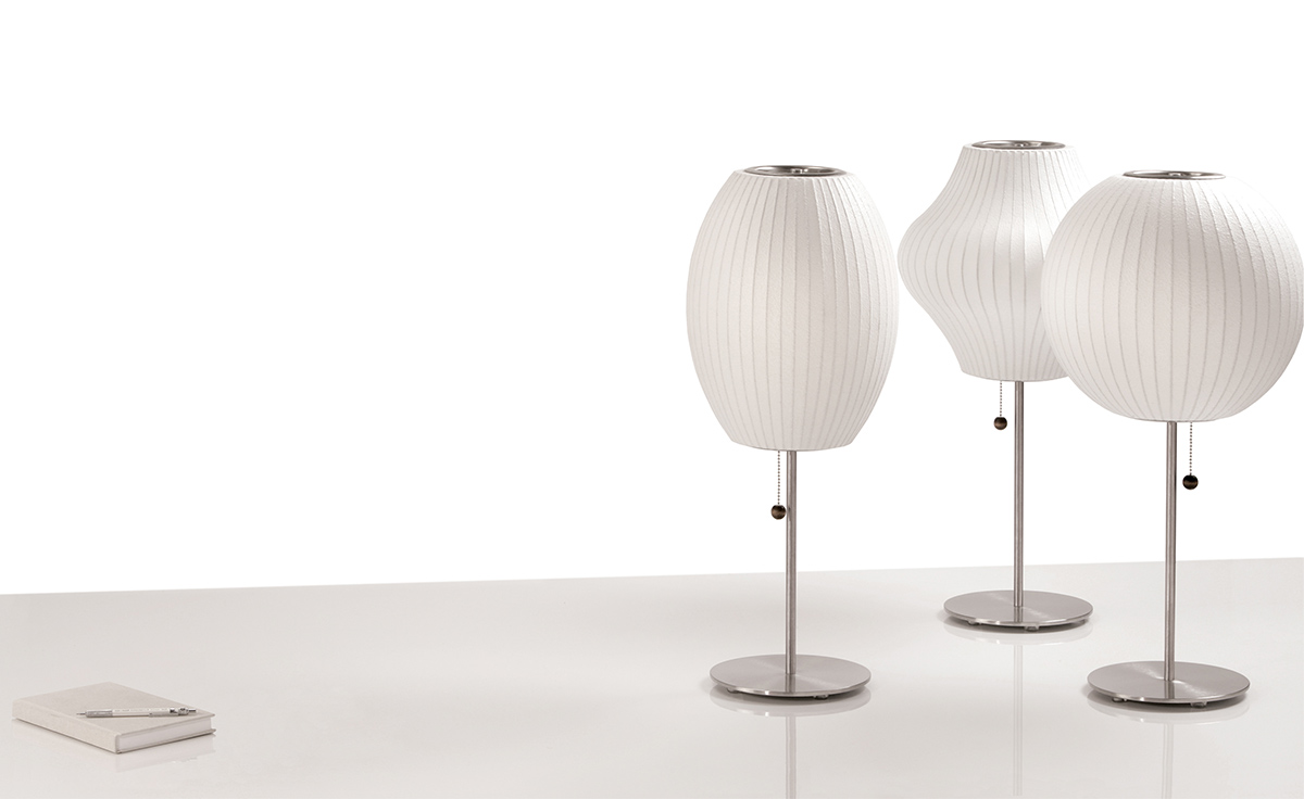 Nelson lotus table lamp ball hivemodern overview aloadofball Image collections