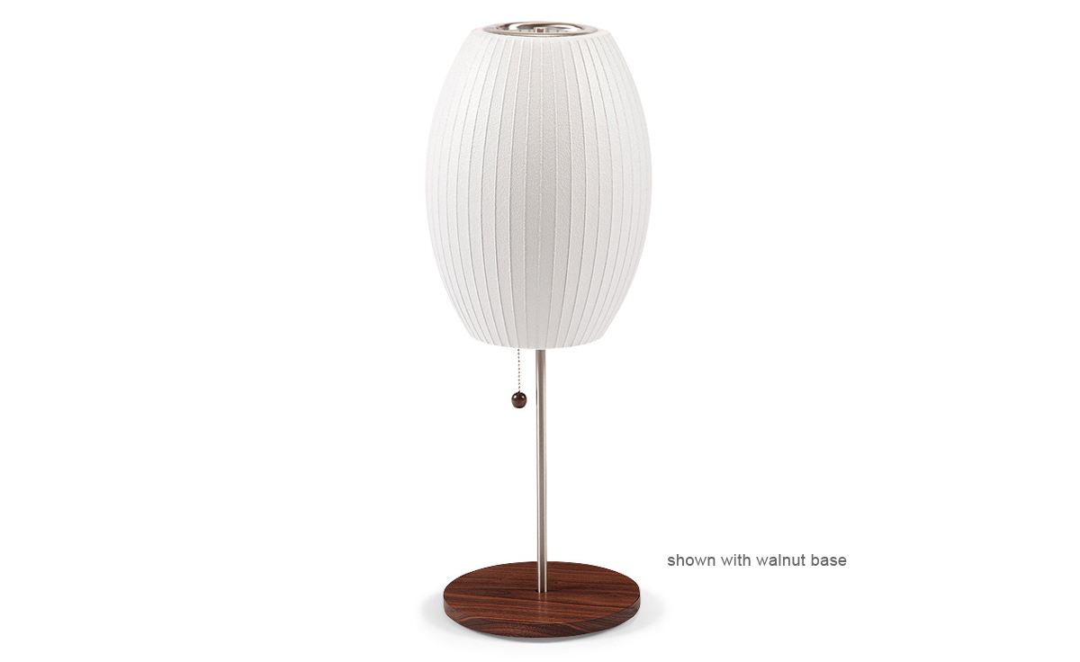 Nelson™ Lotus Table Lamp Cigar - hivemodern.com