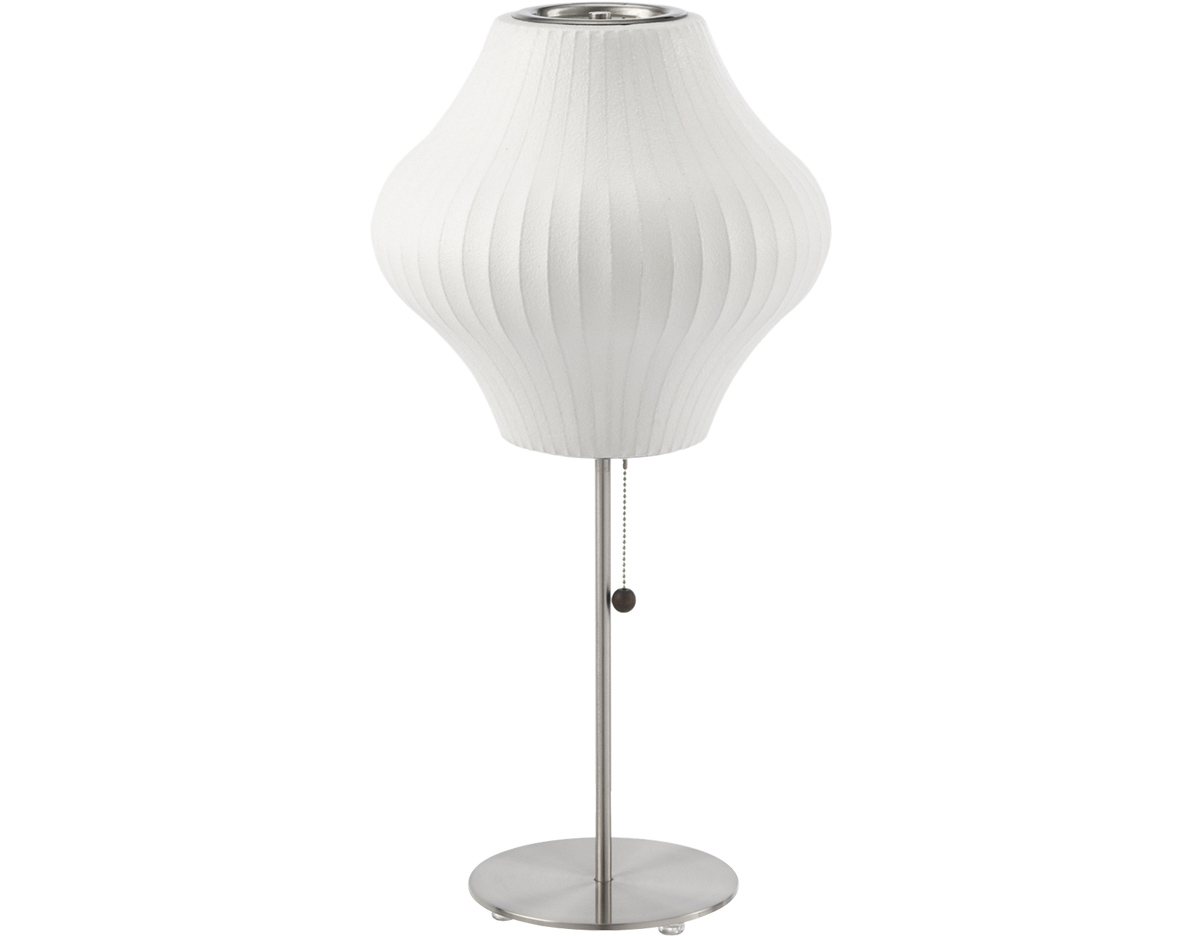 Nelson lotus table lamp pear hivemodern overview geotapseo Image collections