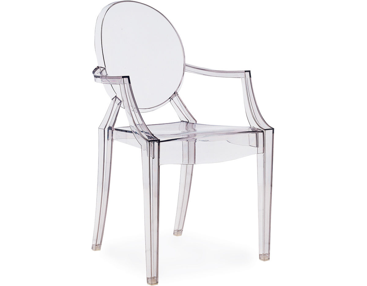 Superieur Louis Ghost Chair 2 Pack