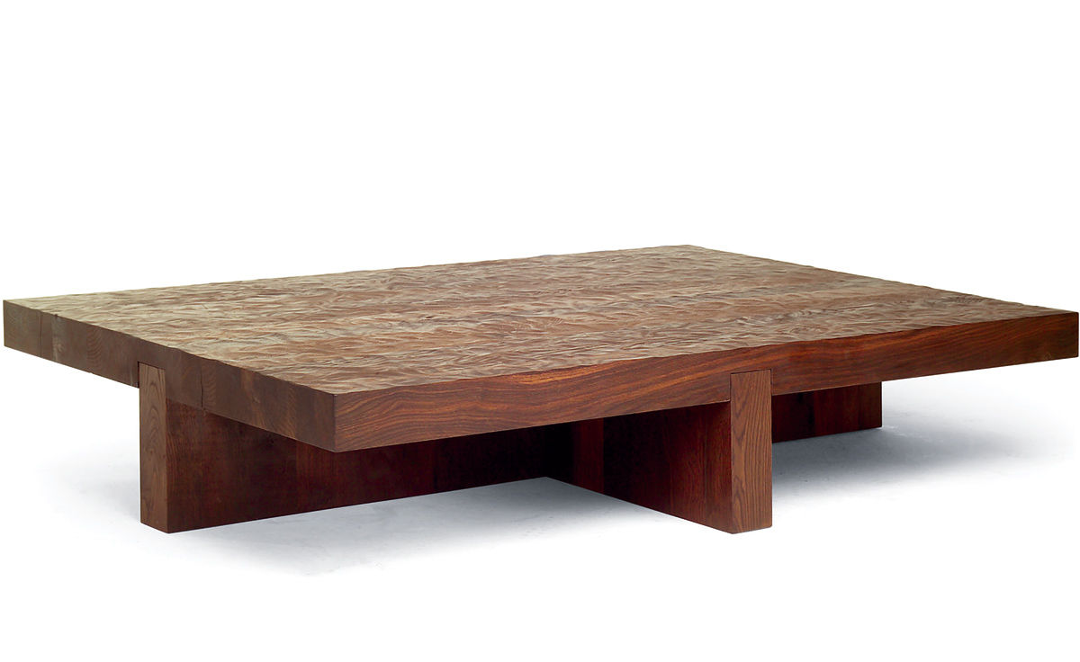 Lowtide coffee table Low wooden coffee table