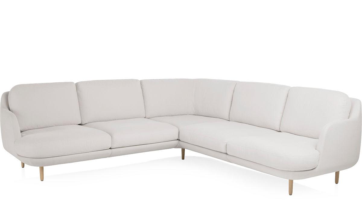 Lune 5 Seat Sofa With Corner - hivemodern.com