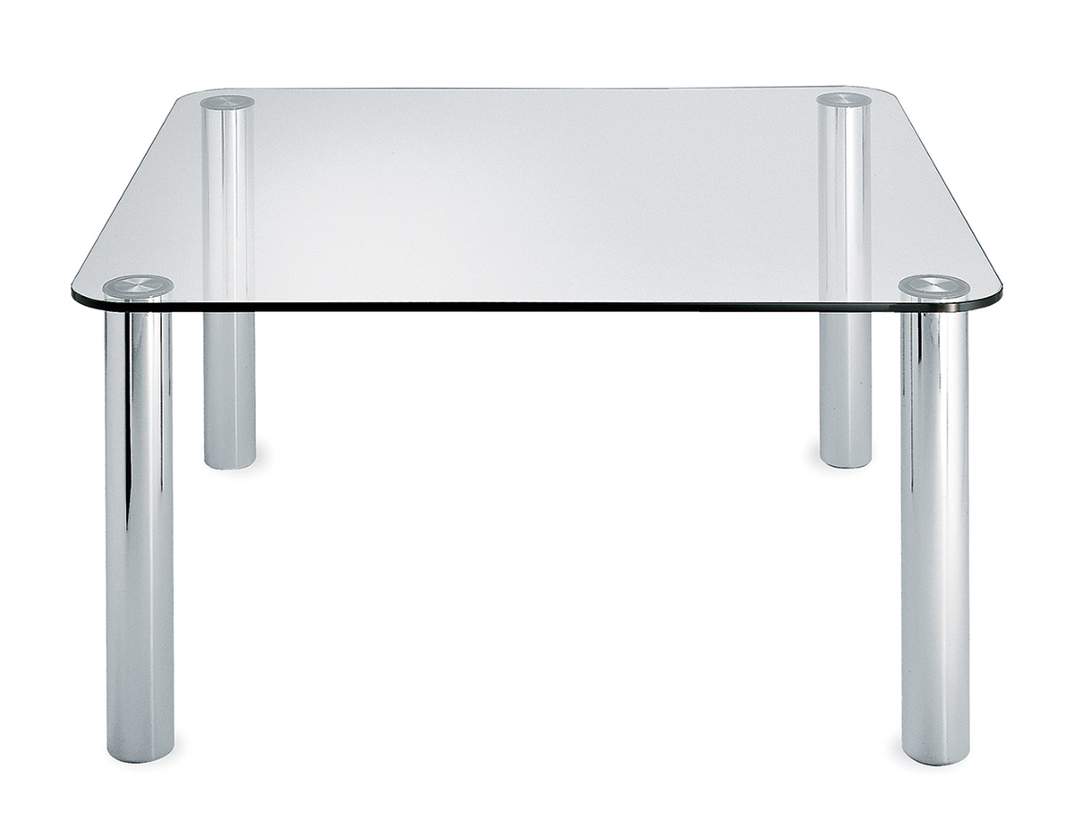 Marcuso glass table for Glass furniture