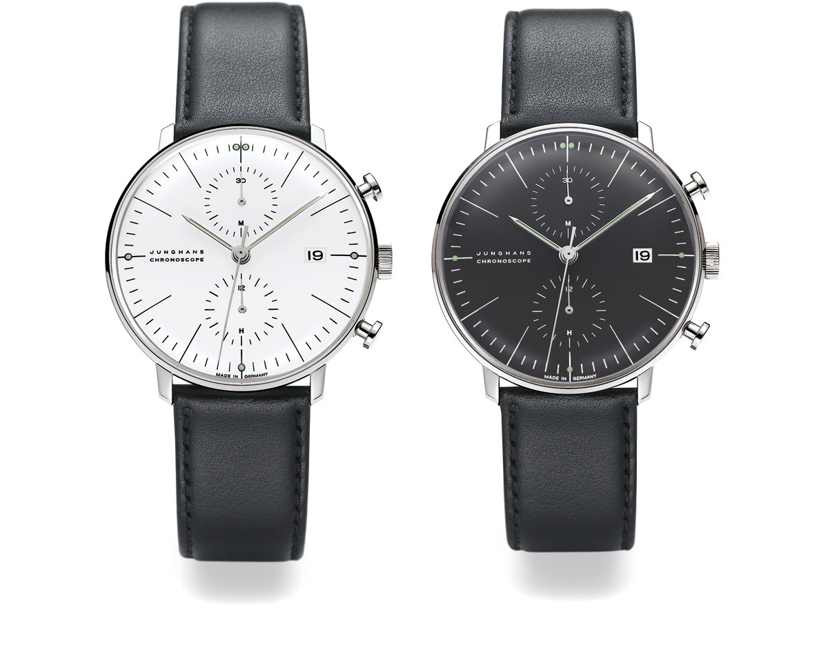Max Bill Chronoscope Wrist Watch - hivemodern.com
