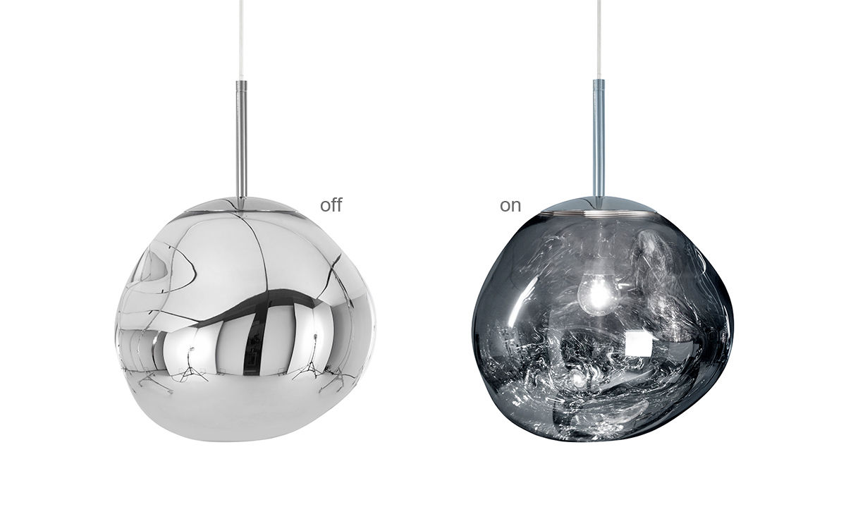 Melt mini pendant light Tom dixon lighting