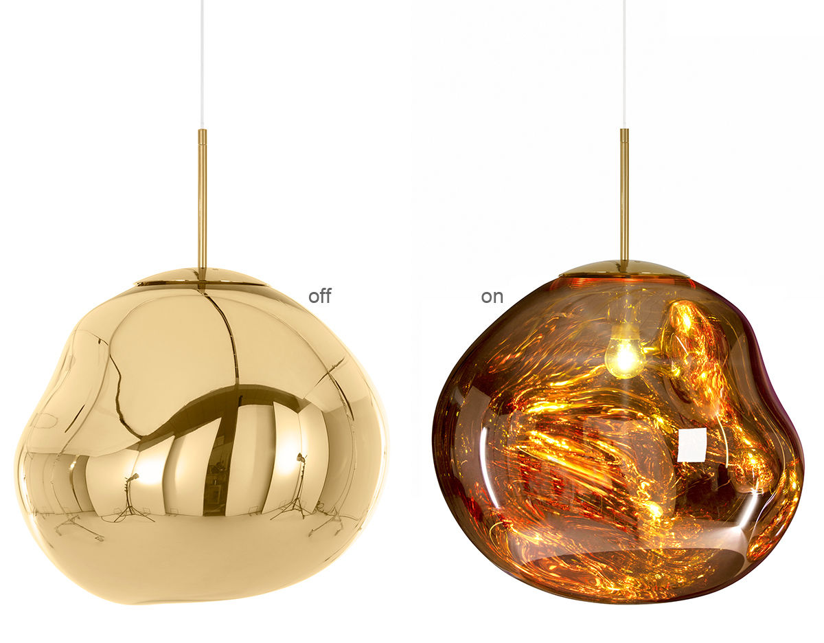 Melt pendant light for Designer lighting