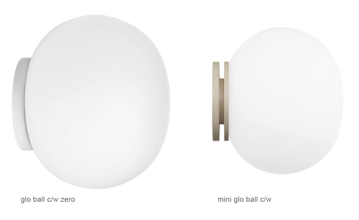 Mini Glo Ball Ceiling/wall Light - hivemodern.com