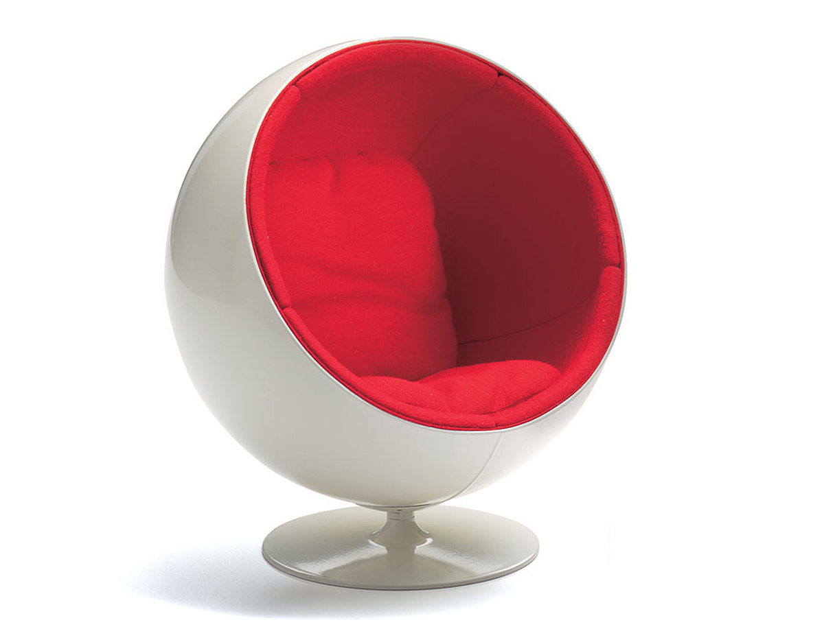 All White Bedroom Miniature Ball Chair Hivemodern Com