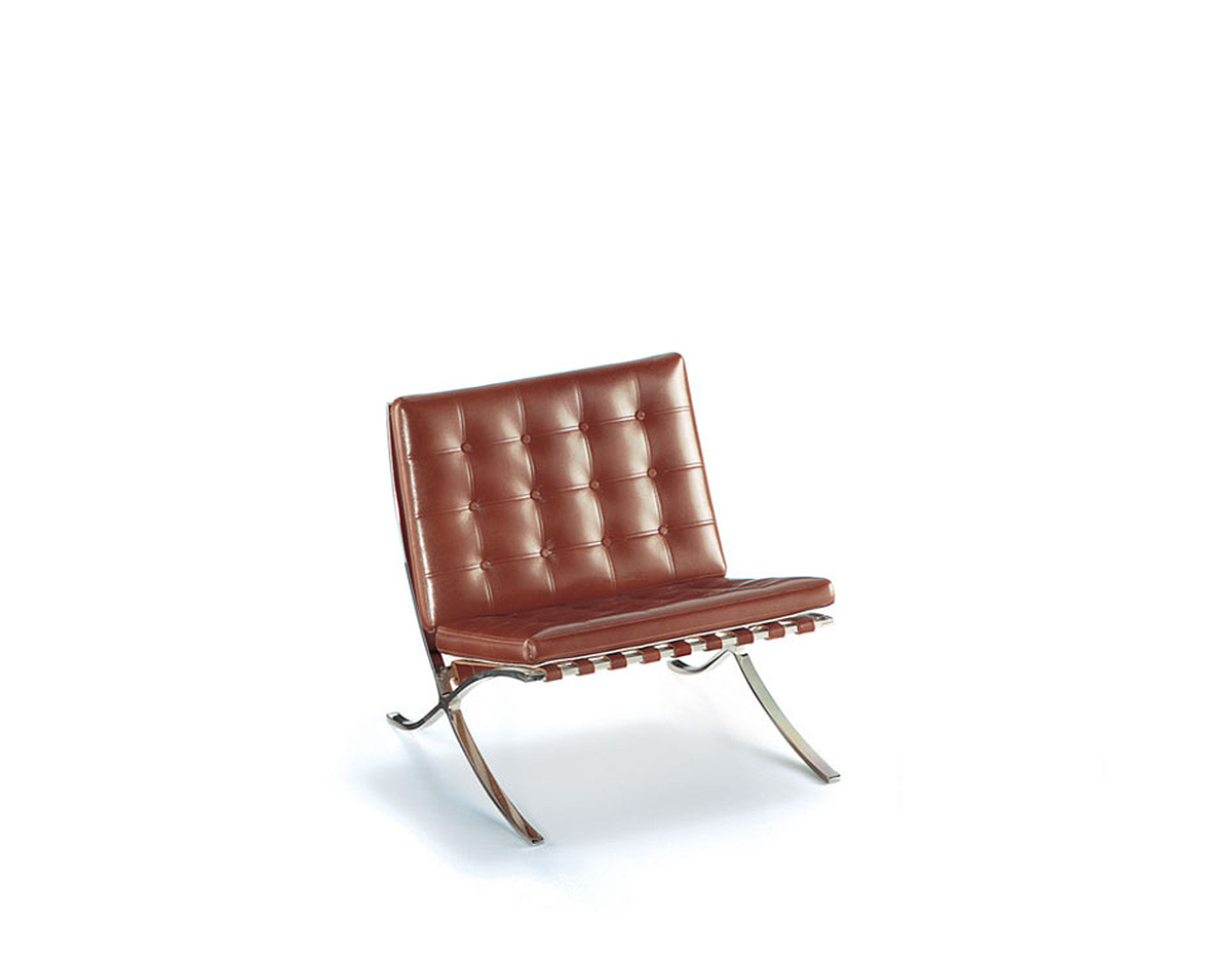 Miniature barcelona chair - Mies van der rohe muebles ...