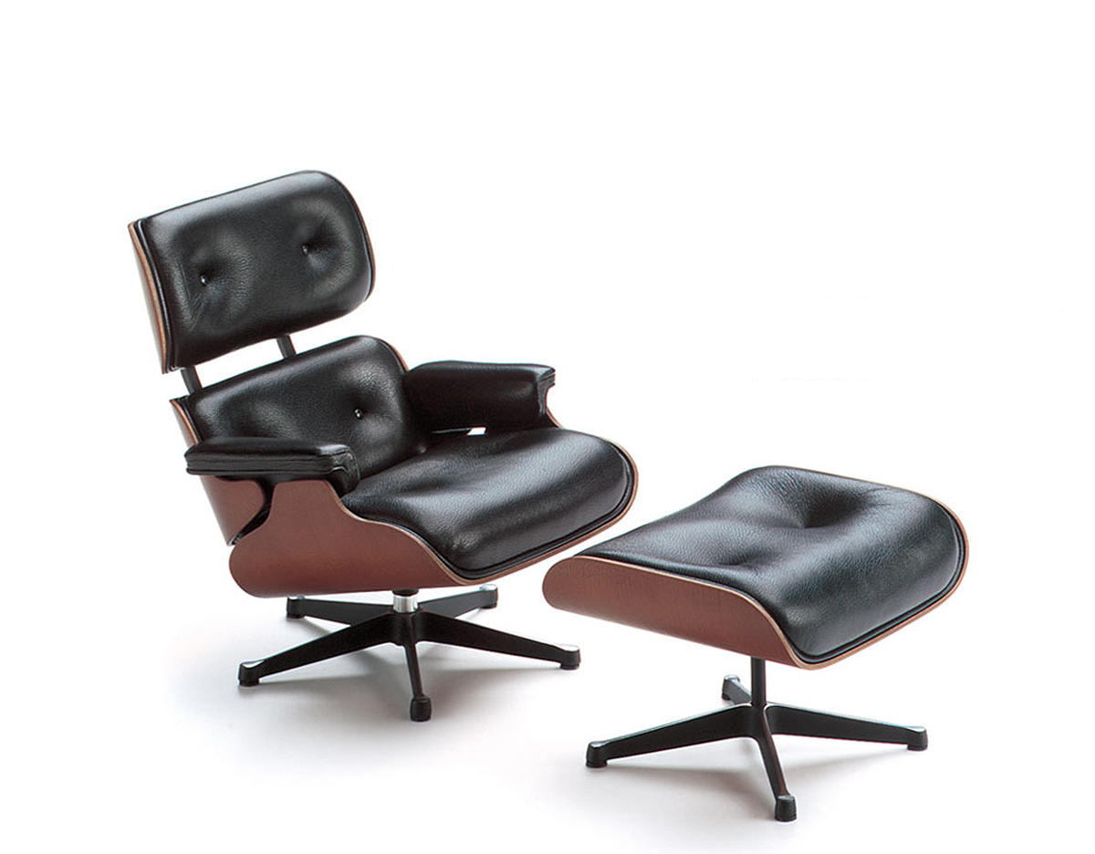 miniature eames lounge ottoman. Black Bedroom Furniture Sets. Home Design Ideas