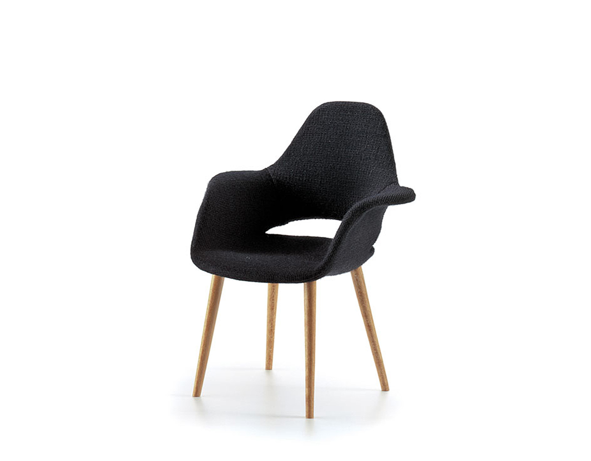 Miniature eames saarinen moma organic chair for Mini designer chairs